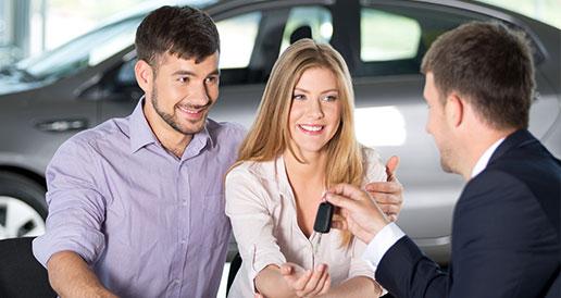 Couple Purchasing Car